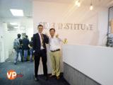 Đại diện Du học VIệt Phương qua thăm và làm việc với Học viện SDH Singapore