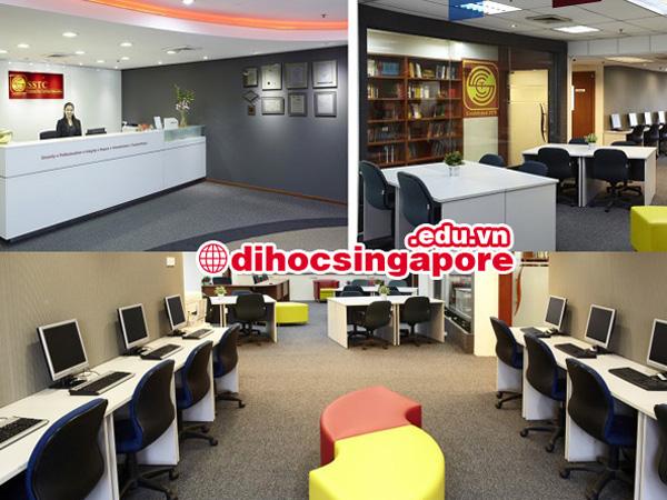 Cơ sở vật chất cảu học viện SSTC Singapore