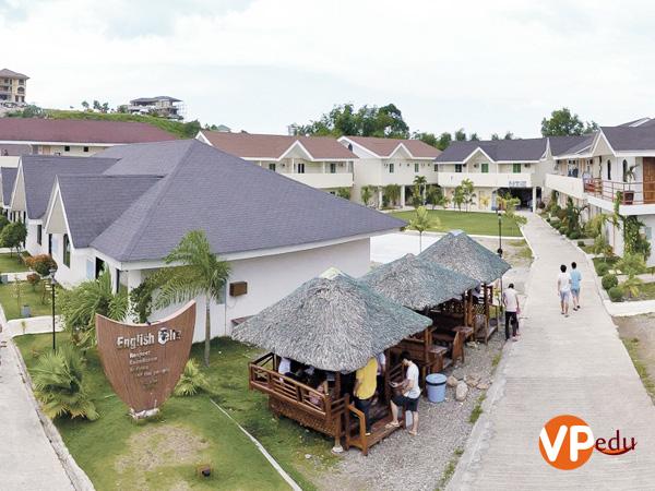 Khuôn viên trường anh ngữ Fella Philippines