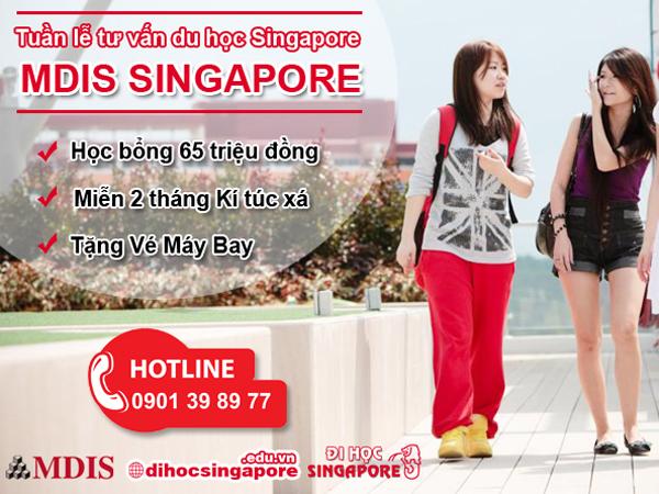 Tuần lễ du học Singapore tại Học viện phát triển quản lý Singapore