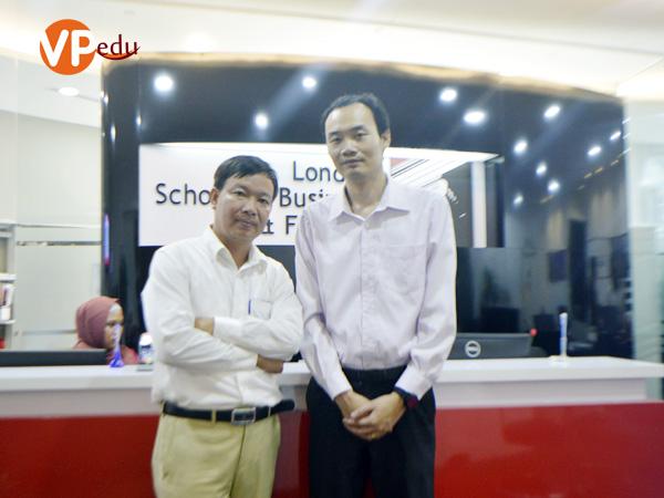 Đại diện du học Việt Phương qua thăm và làm việc với Học viện LSBF Singapore