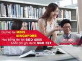 Ưu đãi và học bổng du học Singapore 2017 tại Học viện MDIS