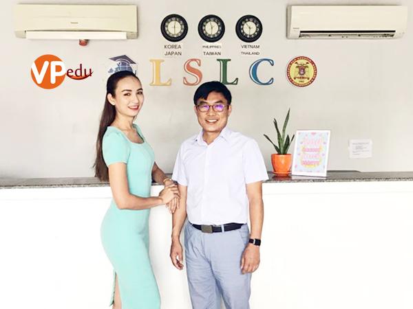 Hoa hậu Du lịch Việt Nam 2008 - Ms. Ngọc Diễm đã tin tưởng và chọn lựa trường Anh ngữ LSLC Philippines