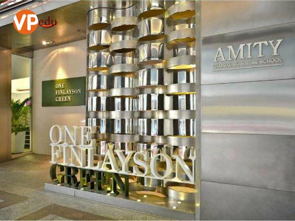 Du học Singapore từ lớp 11 tại trường kinh doanh quốc tế AMITY