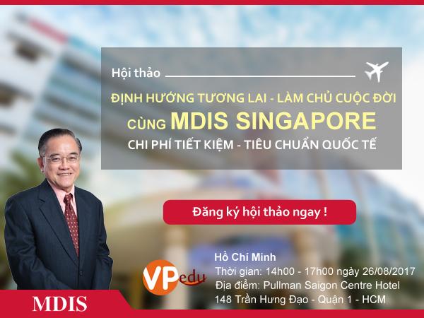 Gặp gỡ và giao lưu cùng Hiệu trưởng trường MDIS – Dr Eric Kuan