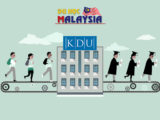 Học bổng du học Malaysia tại Đại học KDU đợt nhập học cuối 2017