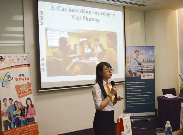 Ms Pha giới thiệu về Việt Phương và các dịch vụ ưu việt của công ty