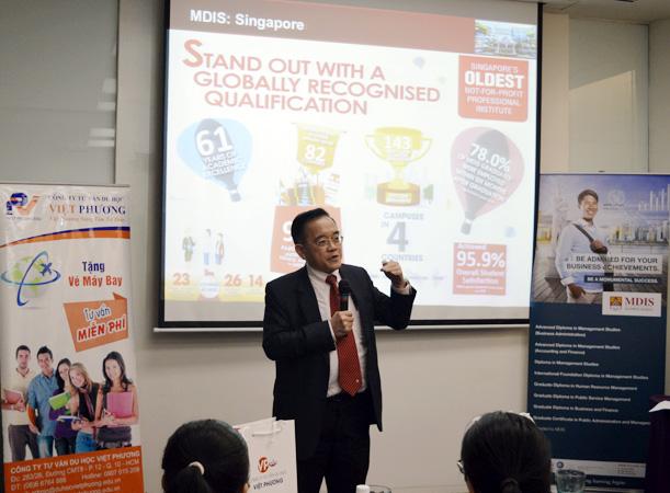 Tiến sĩ Eric Kuan – giới thiệu về thành thích và giải thưởng của trường trong 61 năm qua