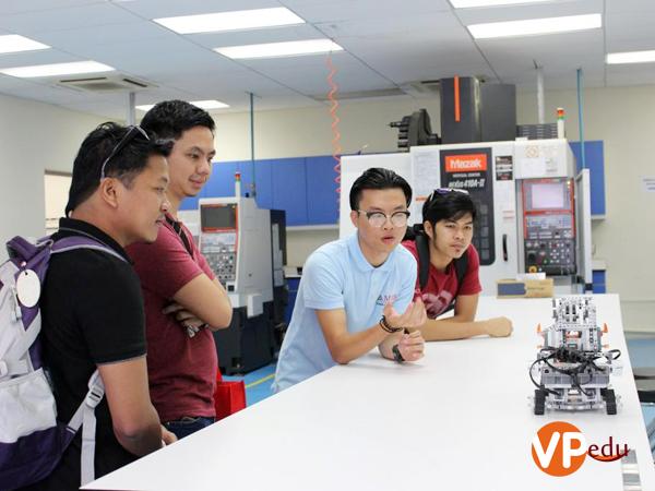 Học viện MDIS được đánh giá cao về cơ sở vật chất trang thiết bị thực tập hiện đại