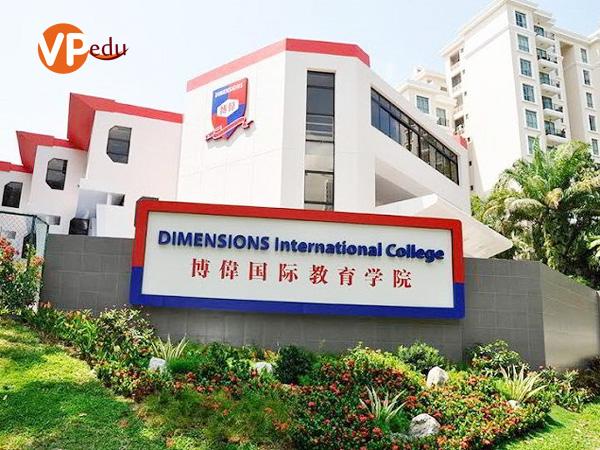 Trường quốc tế Dimensions là một trong những địa điểm học ngành tài chính kế toán hàng đầu ở Singapore
