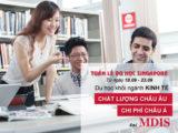 Tuần lễ du học Singapore khối ngành kinh tế cùng Học viện MDIS