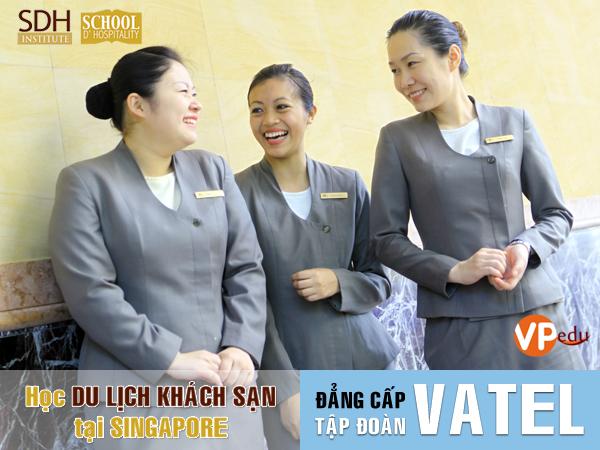 Học Du lịch khách sạn tại Singapore đẳng cấp cùng tập đoàn Vatel