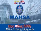 Học bổng du học Malaysia 2018 tại Đại học Mahsa