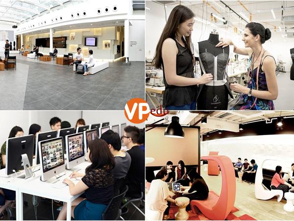 Học viên sẽ được trải nghiệm môi trường học tập hiện đại tại Học viện Raffles Singapore
