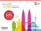 Tuần lễ tư vấn học bổng du học Malaysia tại Đại học Help