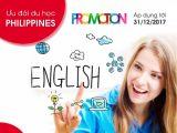 Ưu đãi du học Philippines học tiếng anh cuối năm 2017