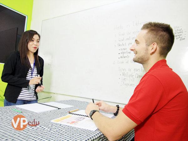Chương trình học tiếng anh 1-1 giúp bạn cải thiện khả năng tiếng anh một cách nhanh chóng