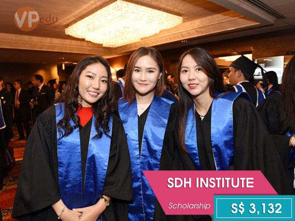 Học bổng du học Singapore ngành du lịch khách sạn tại Học viện SDH 2018
