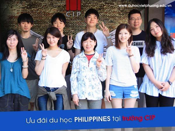 Ưu đãi du học Philippines học tiếng anh tại trường anh ngữ CIP