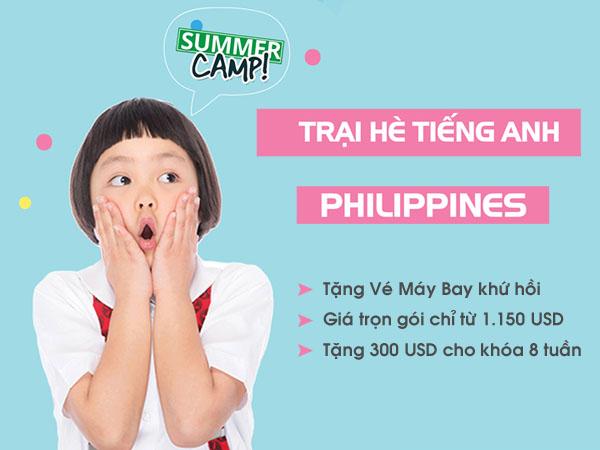 Ưu đãi du học hè tại Philippines năm 2018