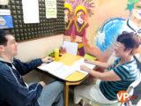 Chương trình học tiếng anh với giáo viên Mỹ tại trường OKEA giúp học viên nói tiếng anh lưu loát và phản xạ tự nhiên hơn