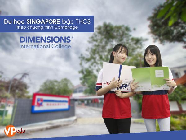 Du học Singapore bậc THCS theo chương trình Cambridge
