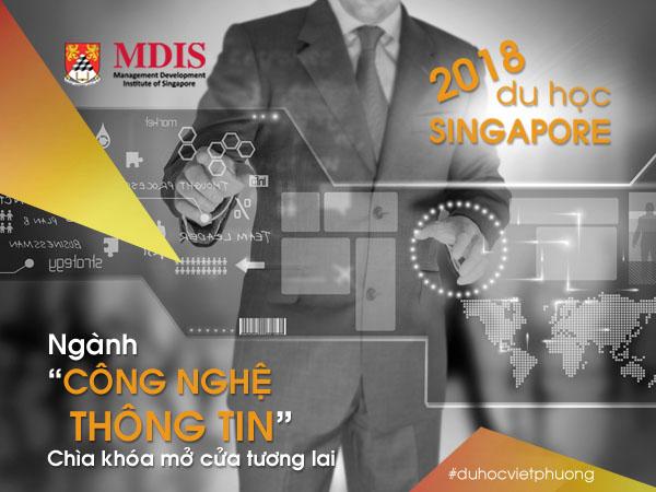 Du học Singapore ngành Công nghệ thông tin tại trường Học viện MDIS 2018