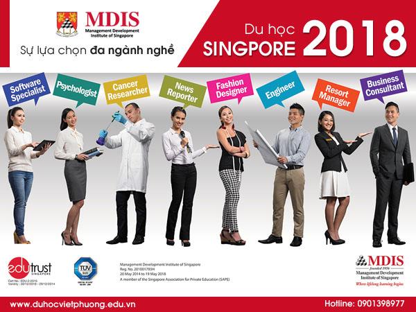 Du học Singapore tại Học viện MDIS năm 2018