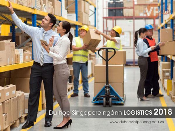 Thông tin tuyển sinh du học Singapore ngành Logistics 2018