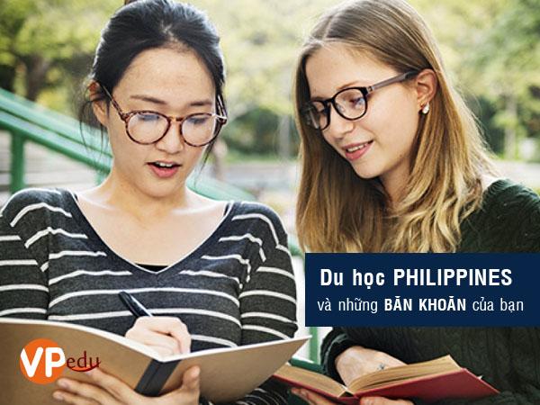 Du học Philippines 2018 học tiếng anh và những băn khoăn của bạn