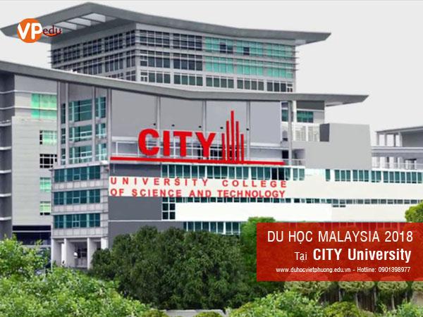 Thông tin du học Malaysia 2018 tại trường City University
