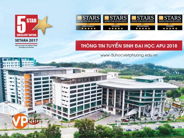 Thông tin du học Malaysia tại Đại học APU năm 2018