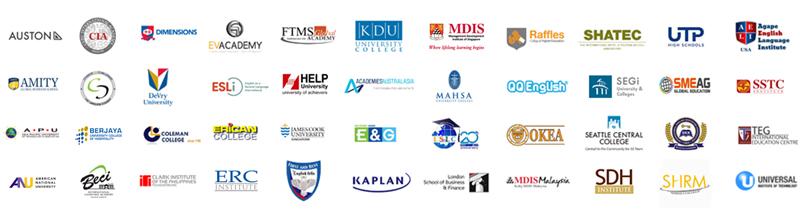 VPEdu là đại diện của các trường đại học, học viện hàng đầu trên thế giới