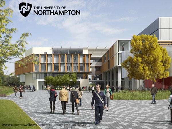 Đại học Northampton là một trong những đại học hàng đầu tại Anh Quốc