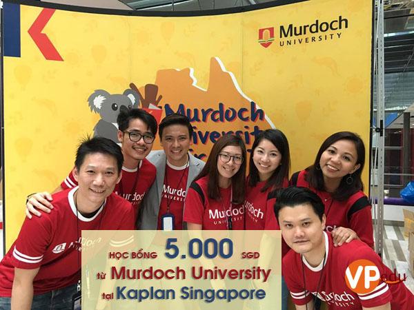 Học bổng du học Singapore từ Murdoch University tại Kaplan Singapore năm 2018