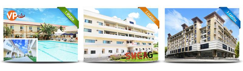 Trường anh ngữ SMEAG có ba cơ sở tại Philippines