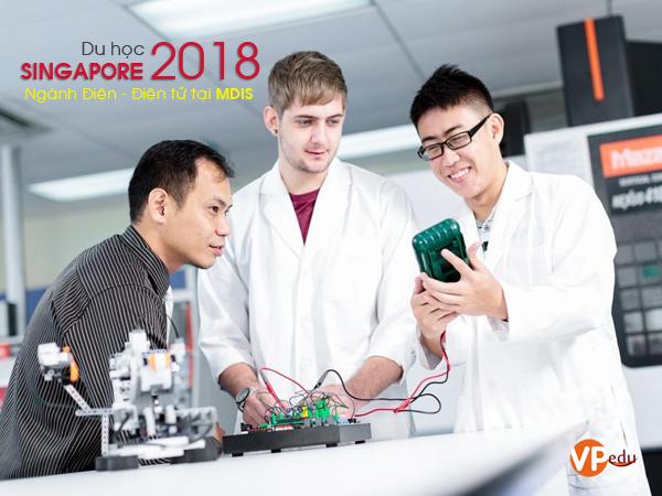 Du Học Singapore Ngành Điện – Điện Tử Tại Học Viện MDIS 2018