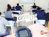 Hình ảnh luyện thi IELTS chăm chỉ của các học viên trường anh ngữ Philinter vào cuối tuần