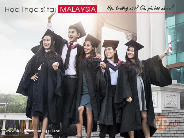 Học thạc sĩ tại Malaysia học trường nào, chi phí bao nhiêu
