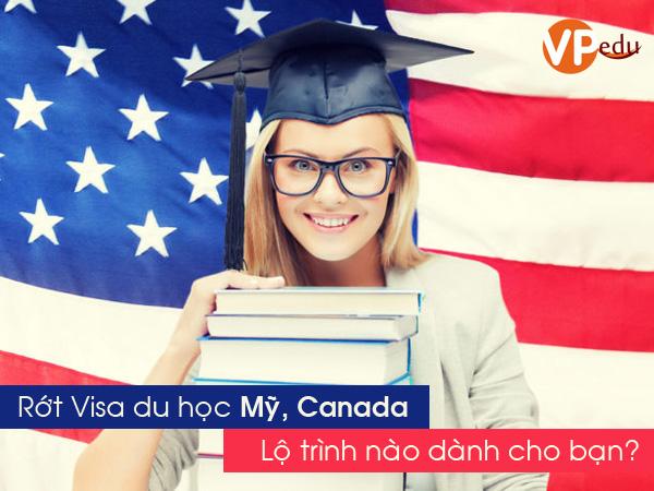 Rớt visa du học Mỹ, Canada lộ trình nào dành cho bạn