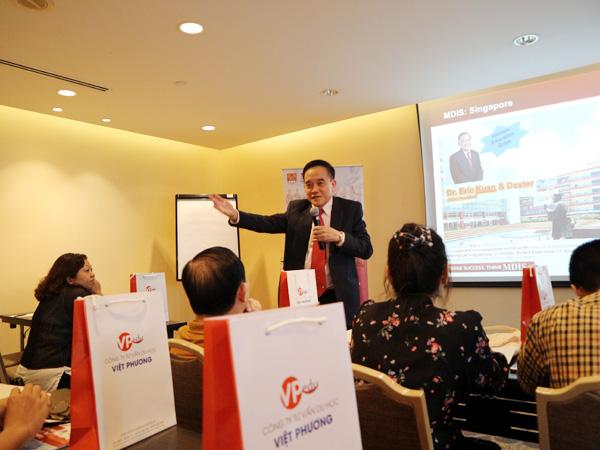 Tiến sĩ Eric Kuan – giới thiệu về thành tích và giải thưởng cũng như chương trình học tại trường