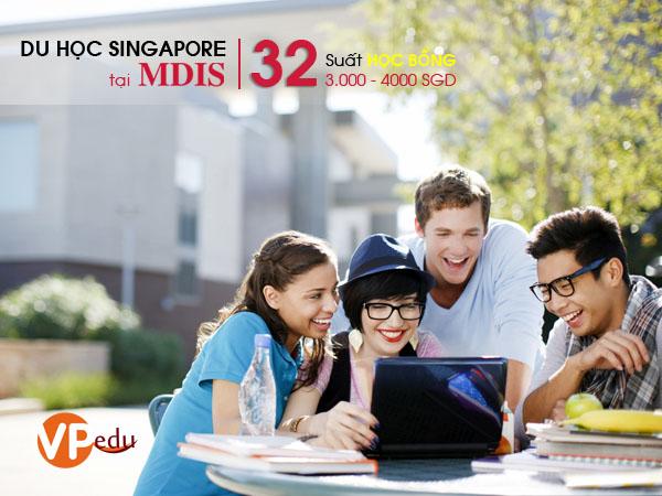 Cơ hội nhận học bổng lới nhất 2018 tại Học viện MDIS Singapore