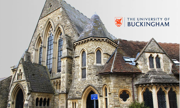 The University of Buckingham là một trong những ngôi trường tư thục hàng đầu tại Anh Quốc