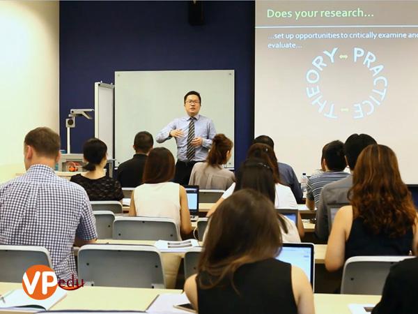 học viện Kaplan Singapore trực thuộc tập đoàn Kaplan Inc