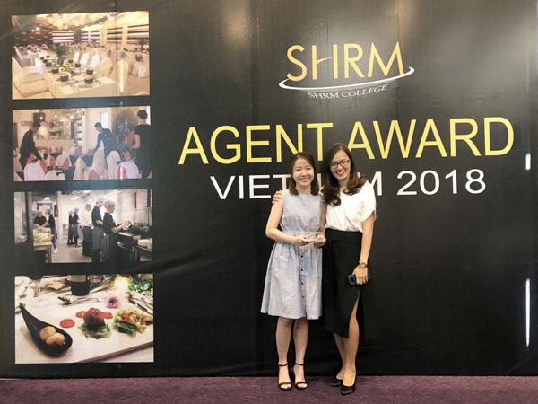 Du học Việt Phương tham dự lễ trao giải của học viện SHRM 2018