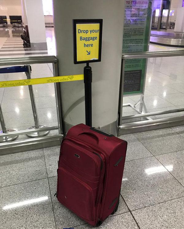 Khu vực để hành lý ký gửi