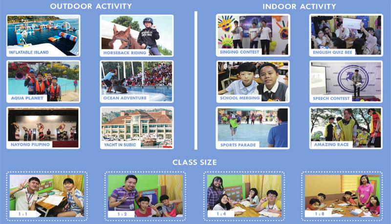 Một số hoạt động của chương trình du học hè tại Philippines