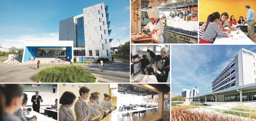 Đại học Stamford Thái Lan với cơ sở vật chất đạt tiêu chuẩn quốc tế