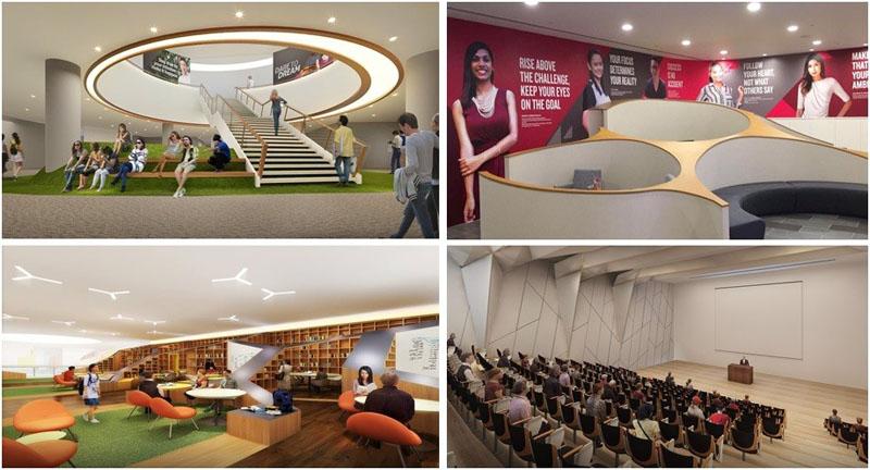 Campus mới của Học viện PSB Singapore