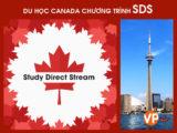 Du học Canada chương trình SDS - Study Direct Stream